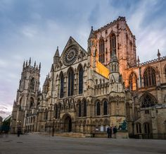 """York, Great Britain """"If you visit to Britain dont miss this place. York is a city with a historic ancient wall was about years old. Wonderful Places, Great Places, Places To See, Beautiful Places, Visit Cambridge, Go Ride, Paradise On Earth, Historical Architecture, Place Of Worship"""