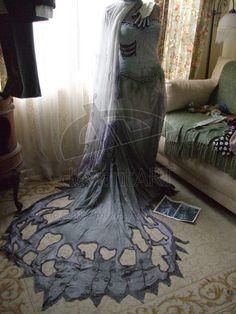 Corpse Bride Costume 2 by ~RocktheApocalypse on deviantART    http://rocktheapocalypse.deviantart.com/art/Corpse-Bride-Costume-2-71064404