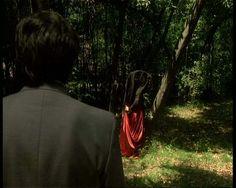 spooky robed person, italian horror movie
