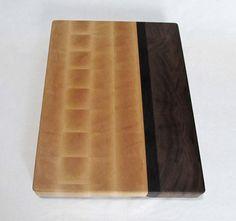 End grain butcher block cutting board