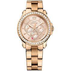 e214fa7a912 Relógio feminino Juicy Couture com pulseira em aço rosé - 1901050 Relógios  Femininos Dourado