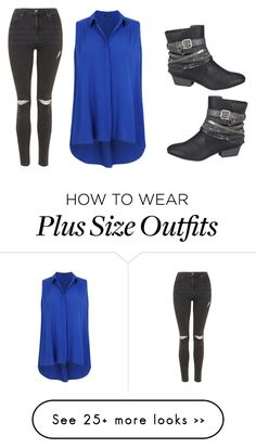 """""""Untitled #955"""" by kiky-miskovic on Polyvore featuring maurices and Topshop"""