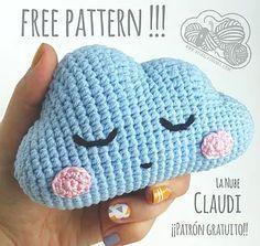 Cloud Free Crochet Pattern Free Cloud Free Pattern Claudi From