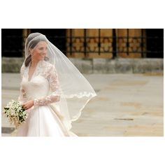 Happy Royal Wedding Day! Pretty pictures! ❤ liked on Polyvore featuring kate middleton, princess and royal wedding