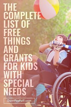 The Complete List of Free Things and Grants for Kids with Special Needs - Finance tips, saving money, budgeting planner Special Needs Quotes, Special Needs Resources, Special Needs Mom, Special Needs Kids, Rett Syndrome, Down Syndrome, Autism Sensory, Sensory Toys, Autism Resources
