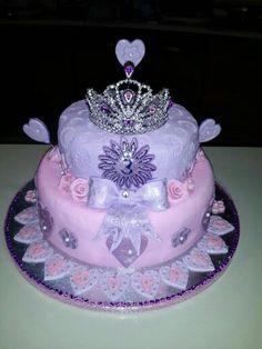 Princess cake made for 3yr old