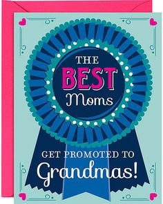 Paper Source Blue Ribbon Grandma Mothers Day Card from Paper Source | Shop Parents.com