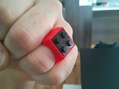 Customizable Lego ring by tart2000  http://thingiverse.com/thing:243202