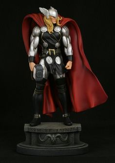 Thor Modern Museum Statue By Bowen