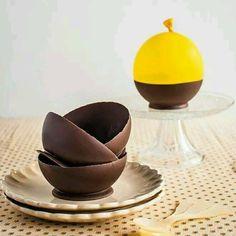 postres de chocolate elegantes - Buscar con Google