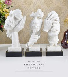 Abstract art decoration sculpture crafts Home Furnishing wine furniture decoration home furnishings accessories-in Resin Crafts from Home, Kitchen & Garden on Aliexpress.com | Alibaba Group