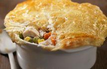 Gfree! Recipe // Gluten Free Creamy Chicken Pot Pies