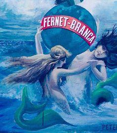 vintage Fernet-Branca herbal liqueur advertisement