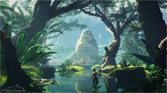 The Giant Buddha by 3DLandscapeArtist on DeviantArt