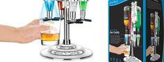 Stupisci gli amici con il LED Bar Caddy: un dispense per gli alcolici.