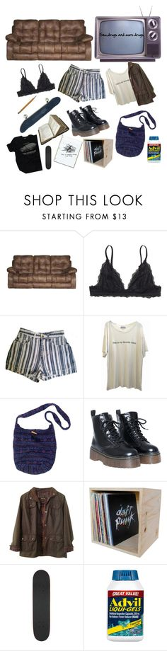 """im a dirty teen"" by tamiiasmith ❤ liked on Polyvore featuring Catnapper, Monki, Wildfox, Muk Luks, Barbour, Alien Workshop and Liqui"