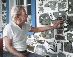 #AlfredPellan #Pellan #bestiaire Alfred Pellan, Clarence Gagnon, Illustration, Art Plastique, Laval, Art Studios, Artist At Work, Past, Artsy