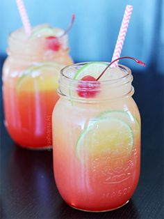 Shirley Temple with a tropical twist! #tropicalescape #vacationland