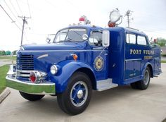 953 REO F-20 Fire Rescue Vehicle
