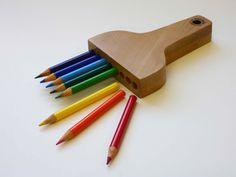   Pencil brush, by Moe Asari.  