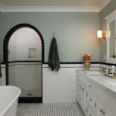 1920's Bathroom Design Ideas, Pictures, Remodel and Decor