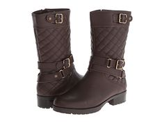 Anne Klein Anne Klein  Callforth Pony Leather Womens Pullon Boots for 62.99 at Im in!