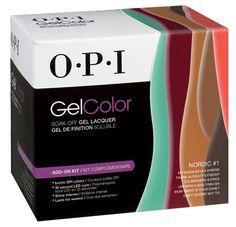 OPI GEL COLOR NORDIC #1 KIT .Set of 6 Gel Colors 0.5 oz
