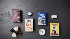 Exclusive cereal available online at London-based Cereal Motel. It's unapologetically provocative and caters to a fashionista crowd with a fetish for cereal.