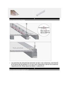 Resultado de imagen para cual es la pendiente para techos con placas de policarbonato
