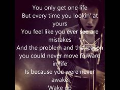 NF (Nate Feuerstein) Wake Up (lyrics) Wake Up Lyrics, Nf Lyrics, Nf Quotes, Lyric Quotes, Real Quotes, Nf Real Music, Music Is Life, Nf All I Have, Nf Nate