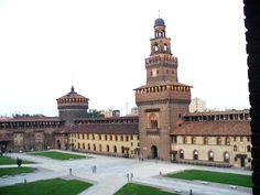 Milan's Sforzesco Castle