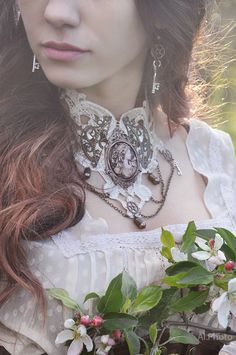 #steampunk #girl #photo #fashion #costumes #photo #fashion #costumes #gothic #flowers #inspiration #color #Dress #Model #photostudio #MUAH #makeup #steampunk_girls #steamgirls #spring