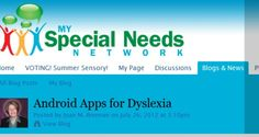 Android Apps for Dyslexia - Pinned by @PediaStaff. - Please Visit http://ht.ly/63sNt for all our pediatric therapy pins