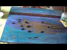 Acrylmalerei abstrakt, Figuren Teil2 Abstract acrylic painting Figures part 2 - YouTube