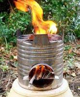 Rocket stove for emer prep