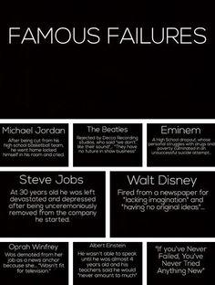 failure isn't final  #Motivation