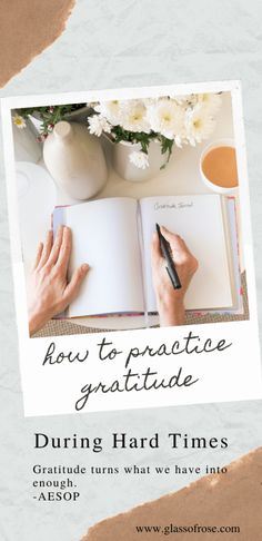 There's a lot going on in the world and many of us are struggling to keep our heads above water. Today I'm sharing how to practice gratitude during hard times. Mindfulness For Teachers, Care Calendar, Lost My Job, Practice Gratitude, Quote Board, Feeling Down, Uplifting Quotes, Staying Positive, Hard Times