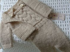 Size6/12 Months.Newborn SetPants Overalls and by knitsdwarfs