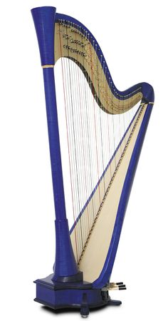 I so badly want to play on a Camac harp someday...