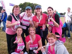 Cancer Research Race For Life -  2011