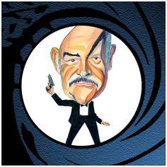 Classic Bond Forum • View topic - James Bond caricatures
