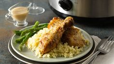 NEW Slow-Cooker Creamy Roasted Garlic Chicken
