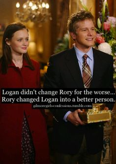 Gilmore Girls Logan and Rory