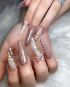 Acrylic Nails Coffin Pink, Colored Acrylic Nails, Simple Acrylic Nails, Summer Acrylic Nails, Aycrlic Nails, Gold Nails, Stiletto Nails, Swag Nails, Cute Acrylic Nail Designs