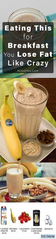 Eating This for Breakfast You Lose Fat Like Crazy #health #fitness #smoothies #diy #fat #weightloss