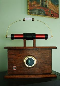 I'm new here and I love the high voltage projects that have been put into Instructables format. My passion is building Tesla coils and I wanted to share images of. Diy Electronics, Electronics Projects, Radios, Arduino, Tesla Free Energy, Tesla Technology, Tesla Patents, Nicolas Tesla, Steampunk Gadgets