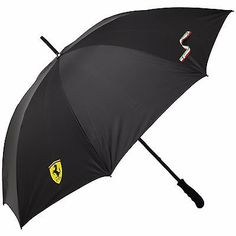 #Ferrari #formula 1 , black, full size #umbrella,  View more on the LINK: http://www.zeppy.io/product/gb/2/131624021911/