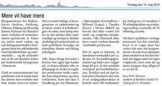 Debat indlæg i Landsbyerne som reaktion på, at borgmestre for landets 6 største byer anmoder Helle Thorning om at fokusere på udviklingen af disse byer (på bekostning af landdistrikter)