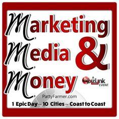 Alicia White enjoyed speaking @PattyFarmerCEO 's Marketing, Media & Money 10 City Tour Event in Dallas on Feb 2016.