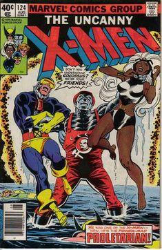 Uncanny X-Men 124 - Storm - Colossus - Cyclops - Wolverine - Dave Cockrum, Terry Austin